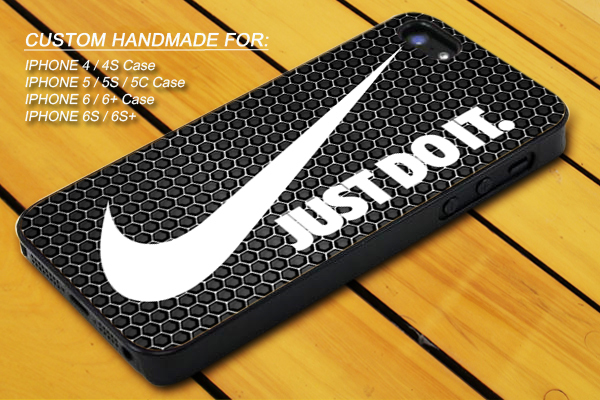 Nike Just Do It White Cover iPhone 7 7+ 6 6s 6+ 6s+ 5 5s 5c 4 4s iPod 5 Case for sale  USA