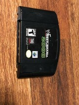 WWF WrestleMania 2000 Nintendo 64 N64 OEM Black Video Game Cart Wrestlin... - $11.88