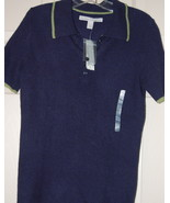 Old Navy Cashmere Knit Polo Shirt Juniors Navy ... - $20.00