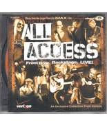 Music-Cd-All Access-Front Row-Backstage-Live - $5.00