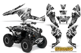 Can-Am Renegade Graphics Kit by CreatorX Decals Stickers INFERNO WB - $157.09