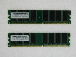 2GB (2X1GB) MEMORY FOR GIGABYTE GA 8IK1100 (REV. 2.0) 8IKHXT 8IKXW-E