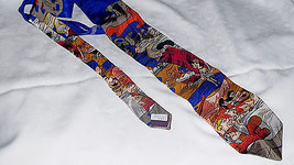 Flinstones RM Style Rack-O-Ribs 1993 Neck Tie 100% Silk Made in USA - $9.89