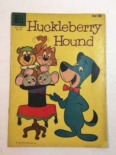 FOUR COLOR #990 DELL 1959 1ST HUCKLEBERRY HOUND