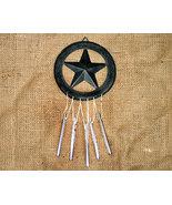 Black Metal Star Country Windchime - $6.50