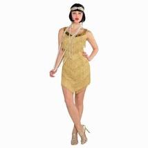 Champagne Flapper Roaring 20's Costume Women's Standard One Size Std - $37.99