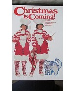 Christmas is Coming 1993 Crafts For Parents And Kids  - $7.99