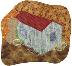 The Shack: Quilted Art Wall Hanging - $445.00