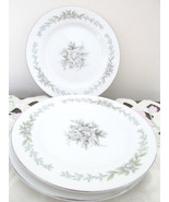 Diamond China Japan China Dinnerware Bouquet Bread Plates Set of 3 - $10.99