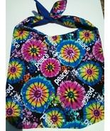 Peace Tie Dye Design Custom Made One Piece Adjustable Strap Tote Handbag... - $24.95