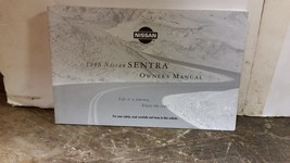 1998 Nissan Sentra Owners Manual by Nissan - $9.89