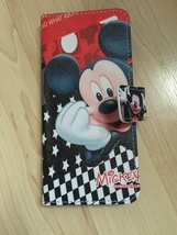 Disney Mickey Mouse Flip Stand PU Leather Case For Samsung Galaxy S8 Plus - $13.99