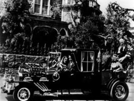 Munsters Car Fred Gwynne 2 Vintage 11X14 BW Comedy TV Memorabilia Photo - $12.95