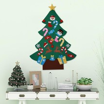DIY Christmas Tree Wall Hanging Decorations For Home Cloth Stickers With... - €16,85 EUR