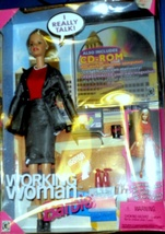 Barbie Doll  -Working Woman Barbie - $33.95