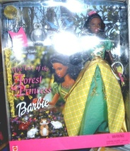 Barbie The Tale of the Forest Princess African American - $49.95