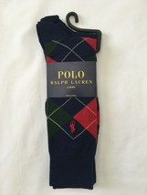 NWT Polo Ralph Lauren Men's 2 Pack Argyle Style Dress Socks - Shoe Size ... - $15.99