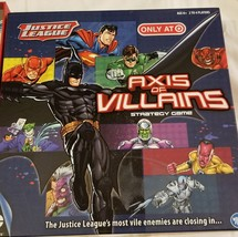 Axis of Villains DC Comics Strategy Board Game Target Exclusive 100% Com... - $18.12