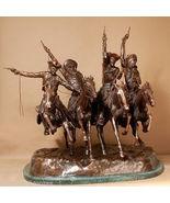 "Frederic Remington Pure American Bronze ""Coming Through the Rye"" Regular - $4,699.75"