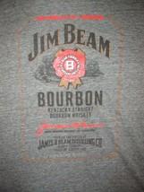 Jim Beam Label T Shirt Sz L Bourbon Whiskey Liquors Kentucky Distiller Bar - $17.99