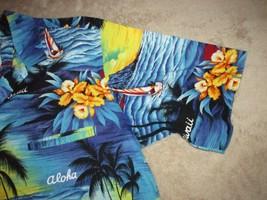 Royal Creations Button Up Hawaiian Shirt Made In Hawaii Sz L Beachwear *... - $16.99
