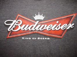 Budweiser King Of Beers T Shirt Sz S **NWT** Beer Brew Draft Bar Buds Bar  - $17.99