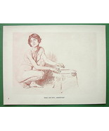 NUDE Study for School of Witches by Otto Greine... - $18.32