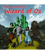 The Wonderful Wizard of Oz - a four-hour audio book - One MP3 CD with both audio - $15.95
