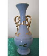 Blue with Gold Trim Bud Vase - Numbered Z74 - $9.99