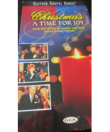 Gaither Gospel Series...Christmas, A Time For Joy Gospel VHS - $3.00