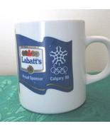 "Vintage LaBatt's Sponsered Calgary ""88"" Olympic... - $9.99"