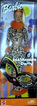 Barbie Doll -  Halloween Barbie -Maskerade Party .  2002. NEW IN BOX - $24.95