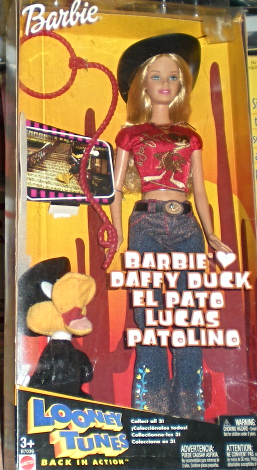Barbie Doll - Looney Tunes Back in Action Barbie Loves Daffy Duck