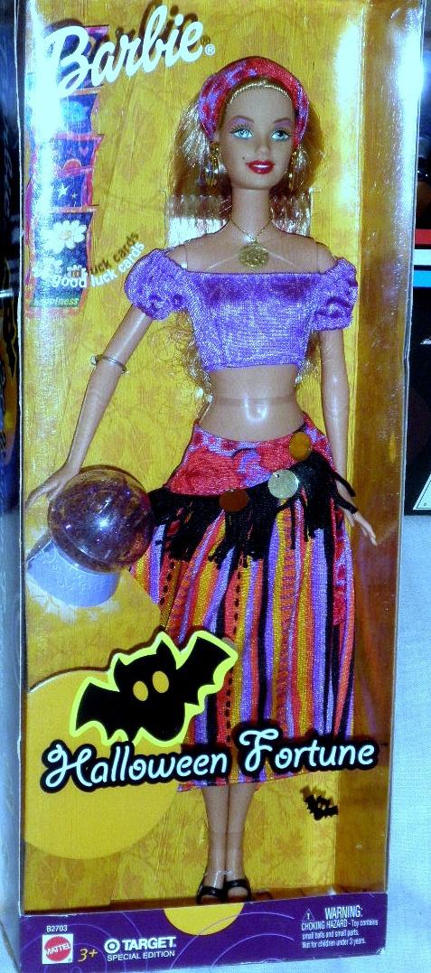Barbie Doll - Halloween Fortune Barbie Fortune Teller Doll Target Exclusive