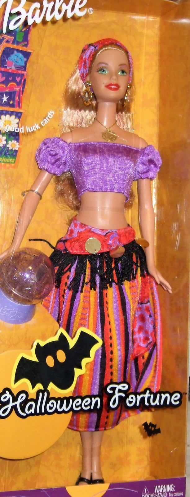 Barbie Doll - Halloween Fortune Barbie Fortune Teller Doll Target Exclusive image 4