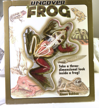 #1718 Uncover a Frog - 3 Dimensional Look inside a frog by Aimee Bakken - $8.00