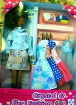 Crystal Doll & Her Fashion Set (AA) Doll - $12.95