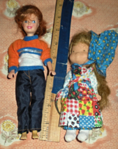 Dolls -Two small collectible dolls - $19.90