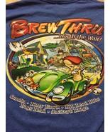 Brew Thru Cool 2011 Outer Banks T-Shirt Sz Medium Worth The Wait!  Great... - $15.98