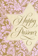"(1) One Greeting Card Passover ""Happy Passover"" - $1.99"