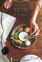 "(1) One Greeting Card Passover - MOM ""For you,MOM, at Passover"" - $2.99"