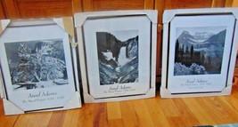 """Ansel Adams Black & White Pics 16""""X20"""" Glacier Park-Half Dome-Yellowston... - $11.99"""