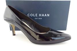 COLE HAAN Size 7.5 Black Patent Mid-Heel Pumps Shoes 7 1/2 - $59.00