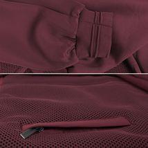 Men's Lightweight Multi Pocket Letterman Varsity Mesh Track Bomber Jacket image 7