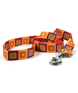 Ellen Crimi Trent Orange Blocks Dog Leash - $14.99 - $16.99