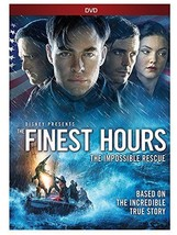 The Finest Hours DVD Brand New Sealed 05/24/2016 - $11.95