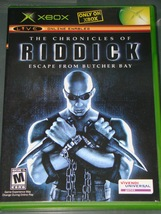 Xbox   The Chronicles Of Riddick Escape From Butcher Bay (Game, Case No Manual) - $6.75