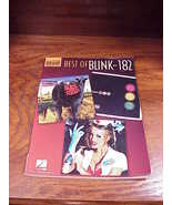 Best of Blink-182 Song Book for Vocal, Drums and Guitar, 13 songs, songbook - $12.95