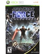 Star Wars Force Unleashed XBOX 360 Game - $7.25