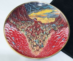 Franklin Mint Heirloom Limited Edition Plate by Bill Bell PARTING OF THE... - $6.87